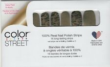 Color Street Nail Polish Strips Glam-ouflage Camouflage Designs USA Made