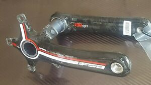 FSA K-FORCE Carbon BBRIGHT Crank Arms 170mm Road Bike COMPACT NEW Cervelo