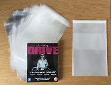 Blu-Ray DVD Steelbook Protection Wraps (Pack of 40) Sleeves Covers - 40 Microns