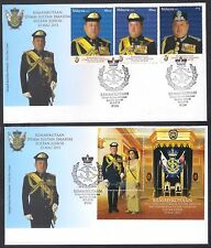 2015 MALAYSIA FDC - INSTALLATION SULTAN JOHOR