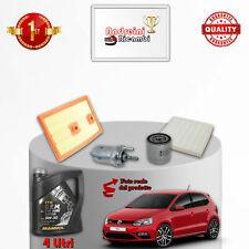 Set Entretien 4 Filtres Et Huile VW Polo V 6R 1.4 TSI 110KW 150CV Partir 2014->