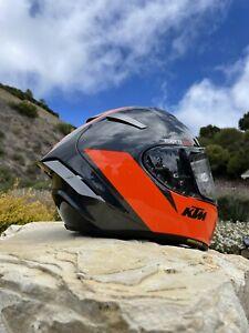 """💥AUTHENTIC-Shoei X-fourteen""""KTM Limted""""Helmet-MED(arai,bell,14,AGV hjc,rf1200)"""