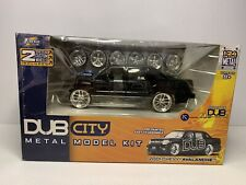 🔥Jada Toys DUB CITY Model Kit 1:24 scale 2001 Chevy Avalanche BLACK READ!