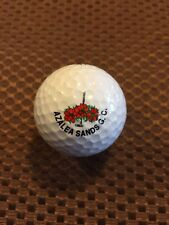 Logo Golf Ball-Azalea Sands Golf Course.Older Logo.Myrtle Beach, Sc Area.