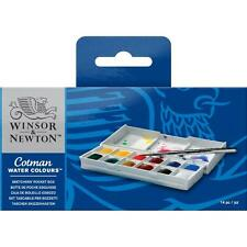 WINSOR & NEWTON COTMAN ACQUERELLI PITTURA Sketchers POCKET Box Set 12 pentole metà