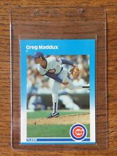 1987 Fleer Update Glossy (Tiffany) Greg Maddux Rookie (#U68)