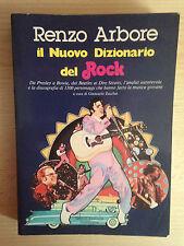 IL NUOVO DIZIONARIO DEL ROCK Renzo Arbore Anthropos 1981