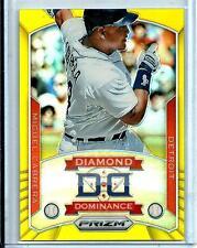 2014 Panini Prizm Miguel Cabrera Gold Diamond Dominance Refractor D # 7/10