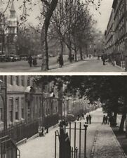 LONDON. Round about the Purlieus of King's Bench Walk 1926 old vintage print