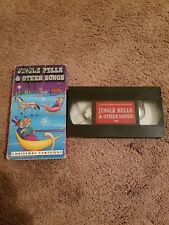 vhs - Jingle Bells and Other Songs, Christmas Cartoons Free Shipping