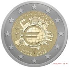 """MALTA SPECIALE 2 EURO 2012 UNC """"10 JAAR EURO"""""""
