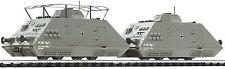 Liliput L 136507 Panzerspähzug Set 3 DR Wehrmacht digital für 3 Leiter