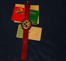 Armbanduhr, United Chronos of Chronos, Benetton by Bulova, getragen