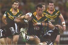 Australia Kangaroos * Anthony Laffranchi Signed 6X4 Action Photo+Coa