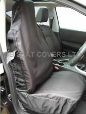 ISUZU TROOPER / RODEO DENVER / D MAX CAR SEAT COVERS WATERPROOF BLACK- 2 FRONTS