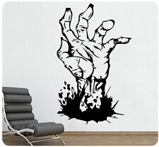 "36"" Zombie Walking Dead Hand Wall Decal Sticker Horror Evil Detailed Mural"