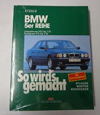 Reparaturanleitung So wird's gemacht BMW 5er Reihe Typ E34 Limousine / Touring