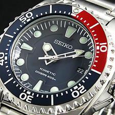 Seiko Men Kinetic Capacitor Scuba Divers 200m Watch Ska369p1 WARRANTY,BOX