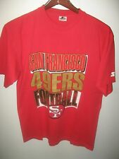 San Francisco 49ers Football Team California USA Vintage 1991 Starter T Shirt Lg