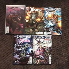 Uncanny X-men #5 - 9  Lot DC 2012 Immortal Man