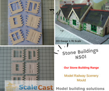 Stone Building Mould NS01- Model Railway Scenery - ScaleCast