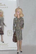 2012 Hallmark Ornament Tweed Indeed Barbie Silkstone Fashion Model Collection
