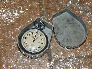 "Soviet Russian USSR Stopwatch ""Agat"" mechanical Zlatoust Working"