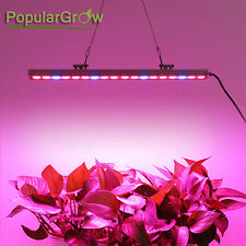 Waterproof  Red+Blue 54W Led Grow Light Strip Kits Lamp Hydro Indoor Plant Grow