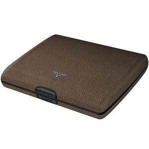 Tru Virtu Leather Aluminium Briefcase - Wallet Purse Credit Card Case