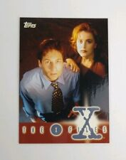 X-Files Season 1 1995 Topps album or binder chase insert promo card #0 VERY RARE