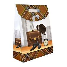 1 x Gift Bags Hat for Man -Classic Luxurious Christmas Gift Bag Paper Bags