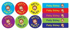 48pk Mixed Kids Iron-On Name Labels - School Personalised Custom