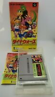 Dino Wars Video Game for Nintendo Super Famicom NTSC-J Japanese NSF BOXED