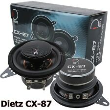 Dietz cx-130-130mm 2 vías coaxial altavoces par 13cm coax speaker cx130