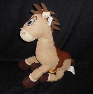"12"" DISNEY STORE TOY STORY WOODY'S HORSE BULLSEYE STUFFED ANIMAL PLUSH W/ TAG"