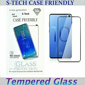 Galaxy S10 /  S10 PLUS Tempered Glass Case Friendly Screen Protector For Samsung