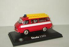 1:43 Abrex Skoda 1203 czech soviet fire bus 1974 RARE