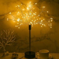 8 Mode 120LED Fairy Lights Dimmable Warm White Firework Table Lamp with Remote