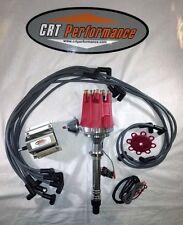 Small Cap CORVETTE C3 HEI DISTRIBUTOR RED PRO SERIES + 60K COIL + PLUG WIRES