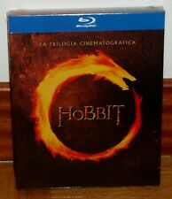 EL HOBBIT-LA TRILOGIA CINEMATOGRAFICA-6 BLU-RAY-PRECINTADO-NUEVO-NEW-SEALED