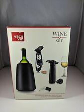 Wine Essentials Serving Set Wine Stopper Server Pump Corkscrew Wine Cooler