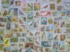 500 Different Birds on Stamps Collection