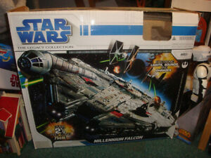 Hasbro Star Wars Legacy Collection Millennium Falcon BOX ONLY (2010)