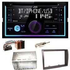 JVC KW-R930BT Bluetooth CD USB MP3 Einbauset für Fiat Ducato Boxer Jumper