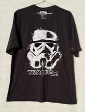 Star Wars Lucas Film Unisex Size S Trooper Graphic Cotton T Shirt