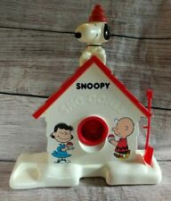 Vintage 1979  Peanuts Snoopy Sno-Cone Machine Cone Maker 70s with Shovel WORKS