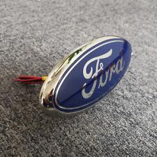 For Ford Fiesta 2008-2012 Bonnet Oval Badge Emblem Motif 2038573 Blue LED Light
