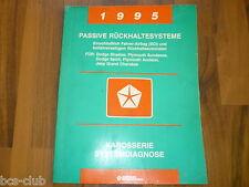 #J099 CHRYSLER JEEP 1994 1995 AIRBAG Rückhaltesystem Diagnose WERKSTATT HANDBUCH