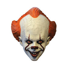Pennywise Mask IT Movie Standard Edition Adult Scary Clown Costume Accessory