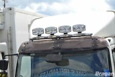 To Fit Iveco Eurocargo Stainless Steel Roof Spot Light Lamp Bar A + Flush LED